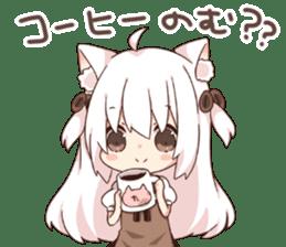 Tamako's Sticker sticker #11400629