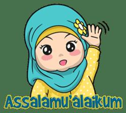 Baby Hijab : Ramadan (Eng) sticker #11401305