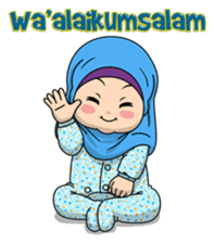 Baby Hijab : Ramadan (Eng) sticker #11401306