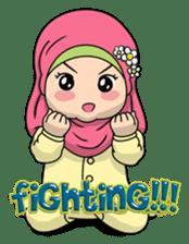 Baby Hijab : Ramadan (Eng) sticker #11401307
