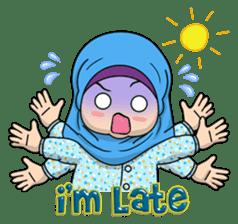 Baby Hijab : Ramadan (Eng) sticker #11401309