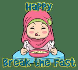 Baby Hijab : Ramadan (Eng) sticker #11401310