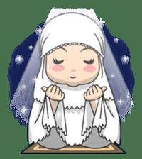 Baby Hijab : Ramadan (Eng) sticker #11401311