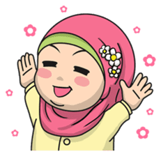 Baby Hijab : Ramadan (Eng) sticker #11401313