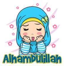 Baby Hijab : Ramadan (Eng) sticker #11401314