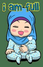 Baby Hijab : Ramadan (Eng) sticker #11401315