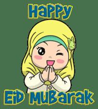 Baby Hijab : Ramadan (Eng) sticker #11401316