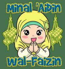 Baby Hijab : Ramadan (Eng) sticker #11401317