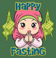 Baby Hijab : Ramadan (Eng) sticker #11401318