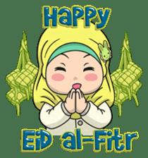 Baby Hijab : Ramadan (Eng) sticker #11401319
