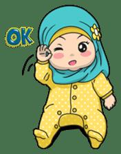 Baby Hijab : Ramadan (Eng) sticker #11401320