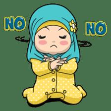 Baby Hijab : Ramadan (Eng) sticker #11401321