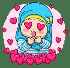 Baby Hijab : Ramadan (Eng) sticker #11401325