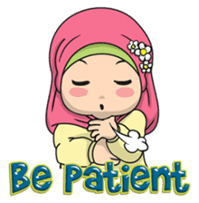 Baby Hijab : Ramadan (Eng) sticker #11401326
