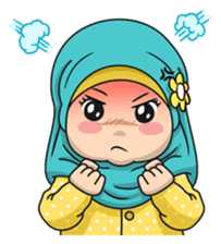 Baby Hijab : Ramadan (Eng) sticker #11401328