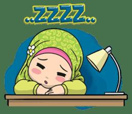 Baby Hijab : Ramadan (Eng) sticker #11401331
