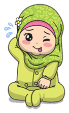 Baby Hijab : Ramadan (Eng) sticker #11401333