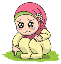 Baby Hijab : Ramadan (Eng) sticker #11401334