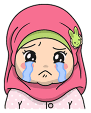 Baby Hijab : Ramadan (Eng) sticker #11401335
