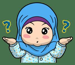 Baby Hijab : Ramadan (Eng) sticker #11401336