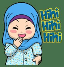 Baby Hijab : Ramadan (Eng) sticker #11401337