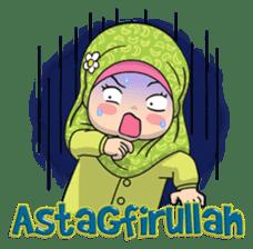 Baby Hijab : Ramadan (Eng) sticker #11401338