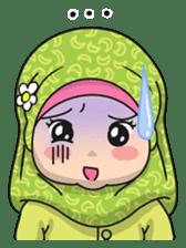 Baby Hijab : Ramadan (Eng) sticker #11401339