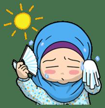 Baby Hijab : Ramadan (Eng) sticker #11401340