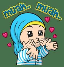 Baby Hijab : Ramadan (Eng) sticker #11401342