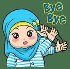 Baby Hijab : Ramadan (Eng) sticker #11401343