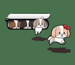 Shih Tzu dog and Friends 2. sticker #11411738
