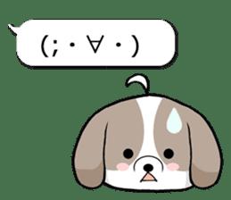 Shih Tzu dog and Friends 2. sticker #11411740