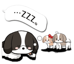Shih Tzu dog and Friends 2. sticker #11411751