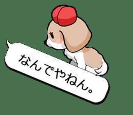 Shih Tzu dog and Friends 2. sticker #11411755