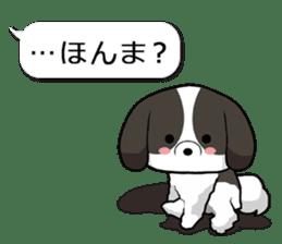 Shih Tzu dog and Friends 2. sticker #11411760