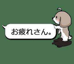 Shih Tzu dog and Friends 2. sticker #11411768