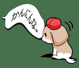 Shih Tzu dog and Friends 2. sticker #11411771