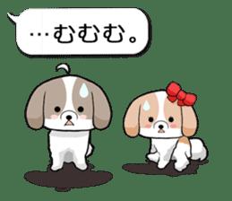 Shih Tzu dog and Friends 2. sticker #11411772