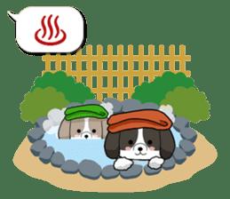 Shih Tzu dog and Friends 2. sticker #11411774