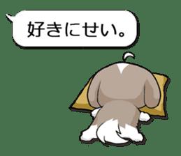 Shih Tzu dog and Friends 2. sticker #11411775