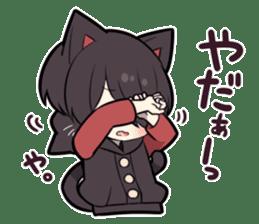 BLACK KITTEN 8 sticker #11411949
