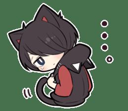 BLACK KITTEN 8 sticker #11411953