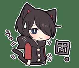 BLACK KITTEN 8 sticker #11411970