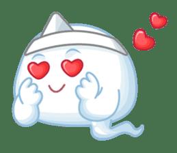Happy Friendly Ghost sticker #11425759