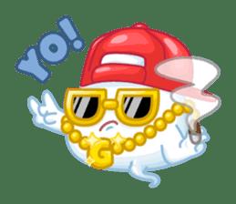 Happy Friendly Ghost sticker #11425769