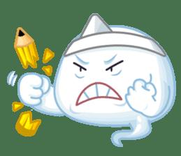 Happy Friendly Ghost sticker #11425774