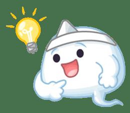 Happy Friendly Ghost sticker #11425780