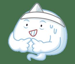 Happy Friendly Ghost sticker #11425782