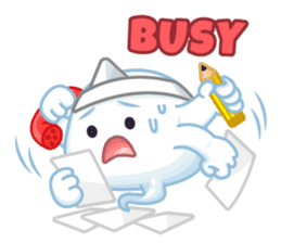 Happy Friendly Ghost sticker #11425786