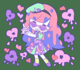 Yume-kawaii girl sticker #11432596